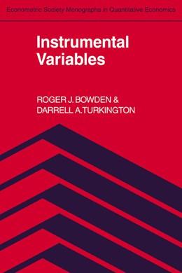 Abbildung von Bowden / Turkington | Instrumental Variables | 1990 | 8