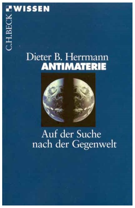 Cover: Dieter B. Herrmann, Antimaterie