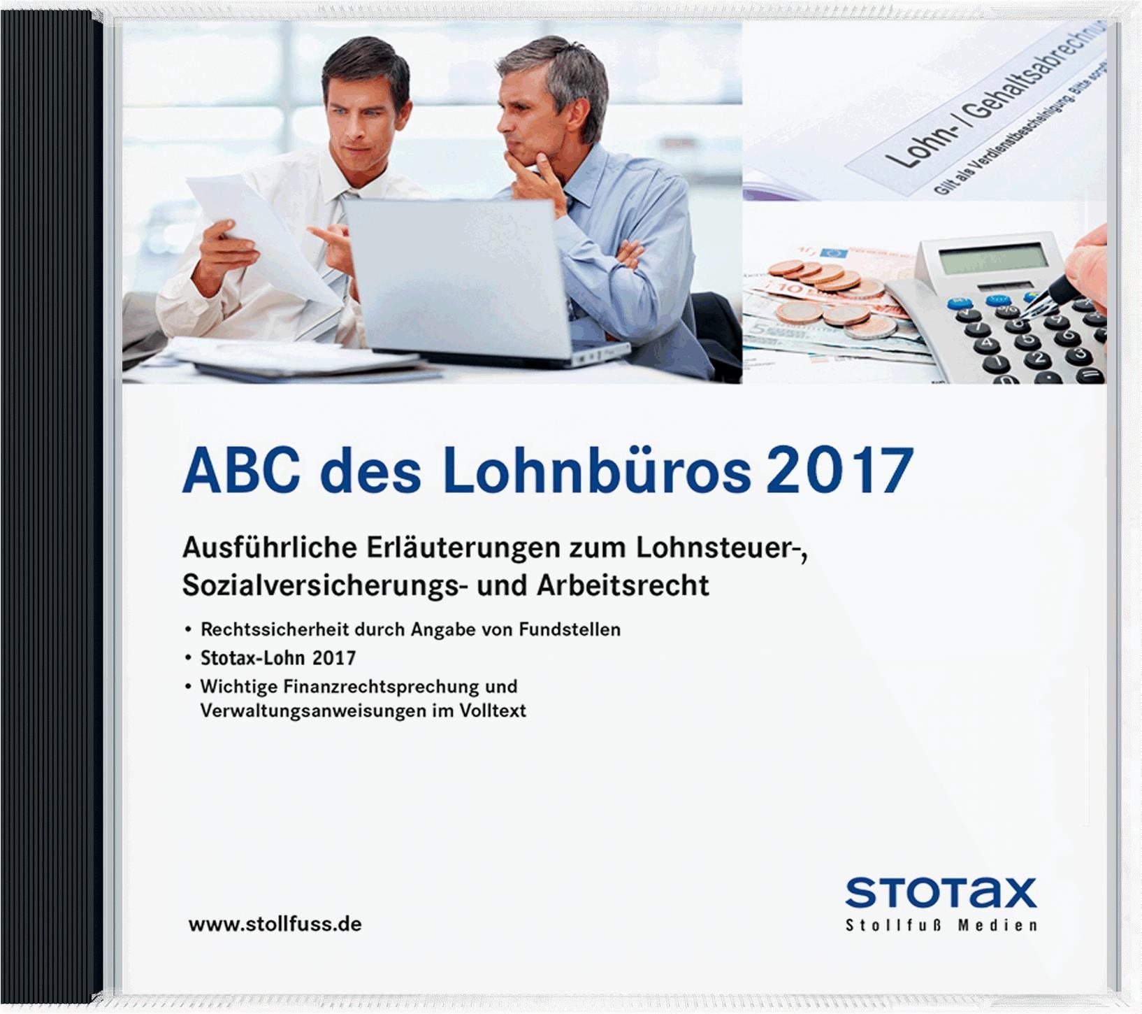 ABC des Lohnbüros 2017 – DVD/Online, 2016 (Cover)