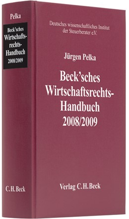 Abbildung von Beck'sches Wirtschaftsrechts-Handbuch 2008/2009   3. Auflage   2008