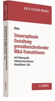 Steueroptimale Gestaltung grenzüberschreitender M&A-Transaktionen | Hess, 2017 | Buch (Cover)