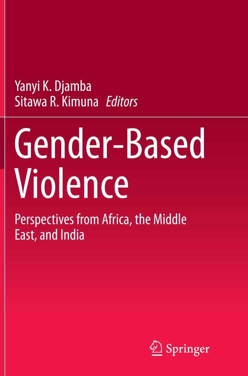 Abbildung von Djamba / Kimuna | Gender-Based Violence | Softcover reprint of the original 1st ed. 2015 | 2016