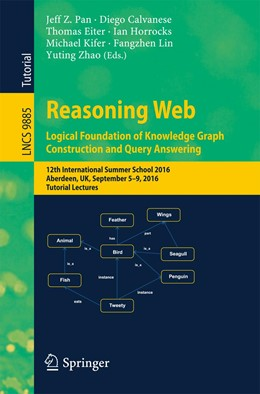 Abbildung von Pan / Calvanese | Reasoning Web: Logical Foundation of Knowledge Graph Construction and Query Answering | 1. Auflage | 2017 | beck-shop.de