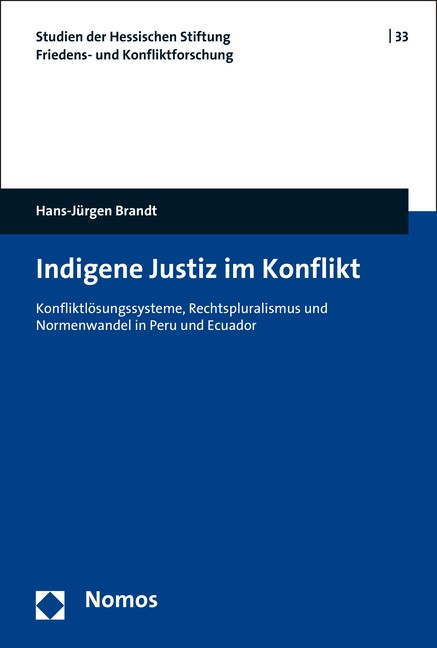 Indigene Justiz im Konflikt | Brandt, 2016 (Cover)