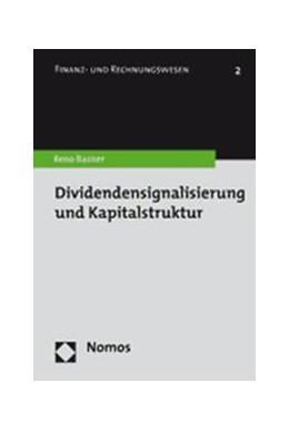 Abbildung von Basner | Dividendensignalisierung und Kapitalstruktur | 2007 | 2
