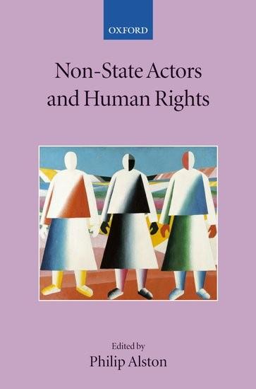 Abbildung von Non-State Actors and Human Rights | 2005