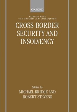Abbildung von Bridge / Stevens | Cross-border Security and Insolvency | 2001