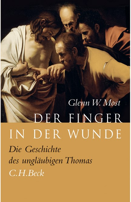 Cover: Glenn W. Most, Der Finger in der Wunde