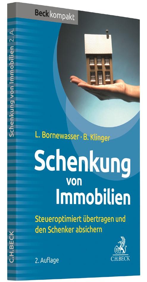 Abbildung von Bornewasser / Klinger   Schenkung von Immobilien   2. Auflage   2017