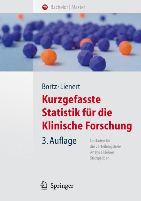 Kurzgefasste Statistik für die klinische Forschung | Bortz / Lienert | 3., aktualisierte u. bearb. Aufl., 2008 | Buch (Cover)