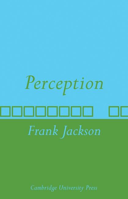 Abbildung von Jackson | Perception | 2009