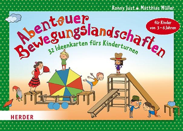 Abenteuer-Bewegungslandschaften   Müller / Just, 2017 (Cover)
