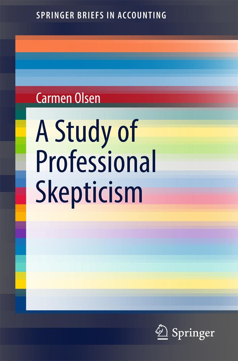 A Study of Professional Skepticism | Olsen | 1st ed. 2017, 2017 | Buch (Cover)