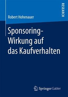 Abbildung von Hohenauer   Sponsoring-Wirkung auf das Kaufverhalten   2016