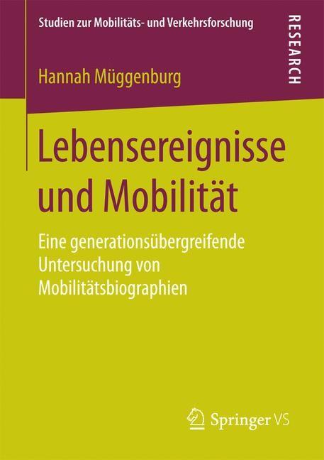 Lebensereignisse und Mobilität | Müggenburg, 2016 | Buch (Cover)