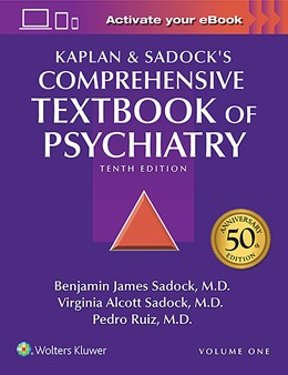 Abbildung von Sadock / Ruiz | Kaplan and Sadock's Comprehensive Textbook of Psychiatry | 10. Auflage | 2017 | beck-shop.de