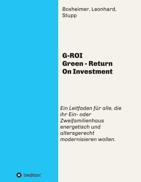 G-ROI Green - Return On Investment   Boxheimer   1, 2016   Buch (Cover)