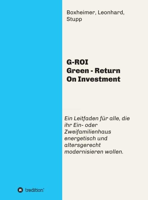 G-ROI Green - Return On Investment | Boxheimer | 1, 2016 | Buch (Cover)