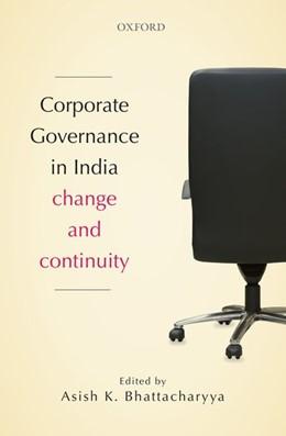 Abbildung von Bhattacharyya | Corporate Governance in India | 2016