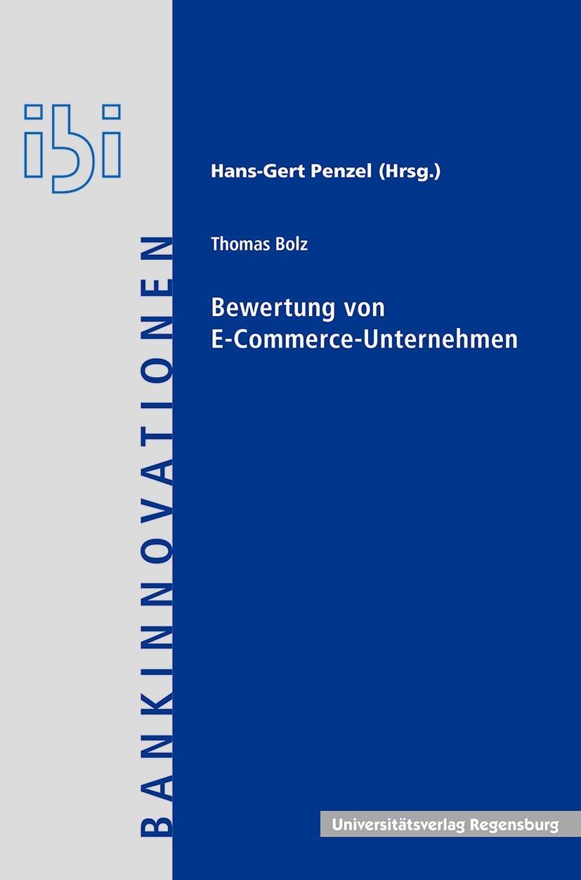 Abbildung von Bolz | Bewertung von E-Commerce-Unternehmen | 2016