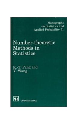 Abbildung von Fang / Wang | Number-Theoretic Methods in Statistics | 1993 | 51