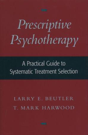 Abbildung von Beutler / Harwood | Prescriptive Psychotherapy | 2000