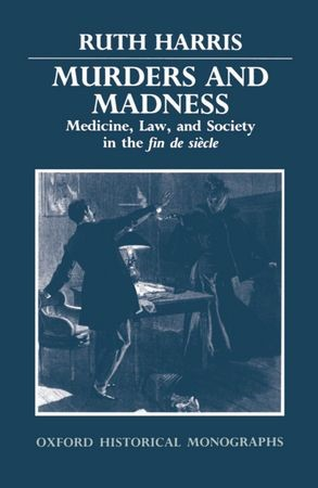 Abbildung von Harris   Murders and Madness   1989
