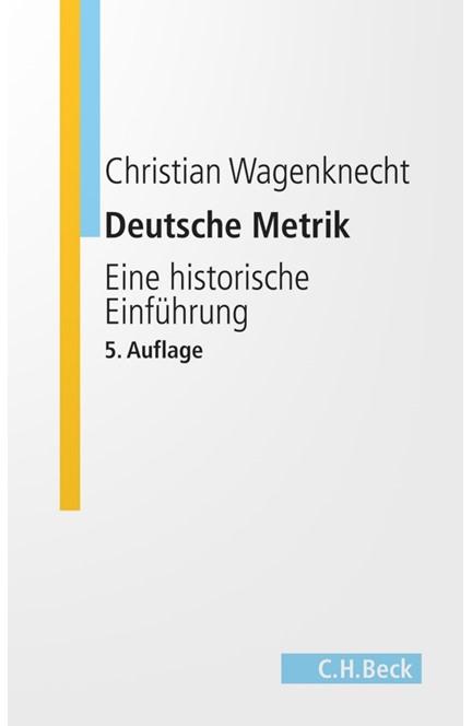 Cover: Christian Wagenknecht, Deutsche Metrik