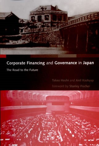 Abbildung von Hoshi / Kashyap | Corporate Financing and Governance in Japan | 2001