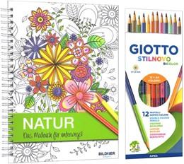Abbildung von Kreativset Malbuch Natur   2016   Das Malbuchset für unterwegs, ...