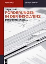 Forderungen in der Insolvenz | Smid, 2017 | Buch (Cover)