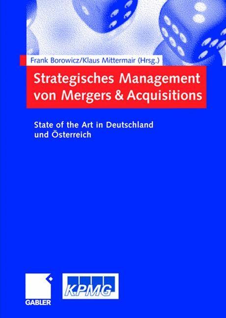 Strategisches Management von Mergers & Acquisitions | Borowicz / Mittermair, 2006 | Buch (Cover)