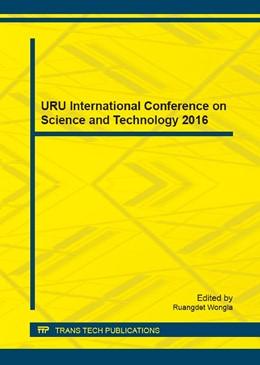 Abbildung von Wongla | URU International Conference on Science and Technology 2016 | 2017 | Volume 855