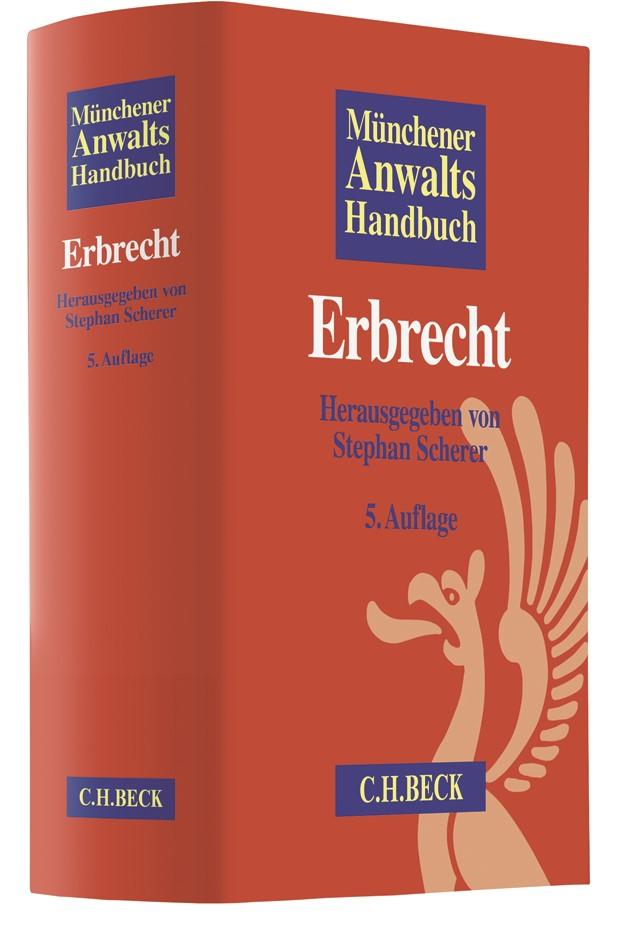 Münchener Anwaltshandbuch Erbrecht | 5,. überarbeitete Auflage, 2018 | Buch (Cover)