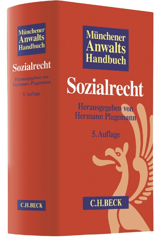 Münchener Anwaltshandbuch Sozialrecht | 5., überarbeitete und aktualisierte Auflage, 2017 | Buch (Cover)