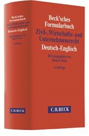 Becksches Formularbuch Zivil Wirtschafts Und Unternehmensrecht