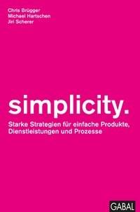 simplicity. | Hartschen / Scherer / Brügger, 2017 | Buch (Cover)