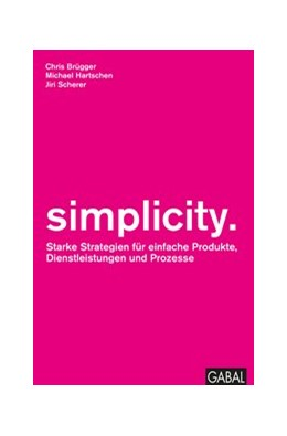 Abbildung von Hartschen / Scherer | simplicity. | 1. Auflage | 2017 | beck-shop.de