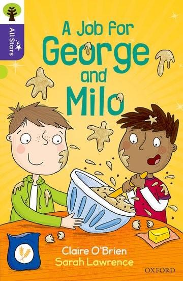 Abbildung von O'Brien   Oxford Reading Tree All Stars: Oxford Level 11: A Job for George and Milo   2017