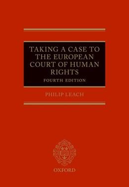 Abbildung von Leach | Taking a Case to the European Court of Human Rights | 2017