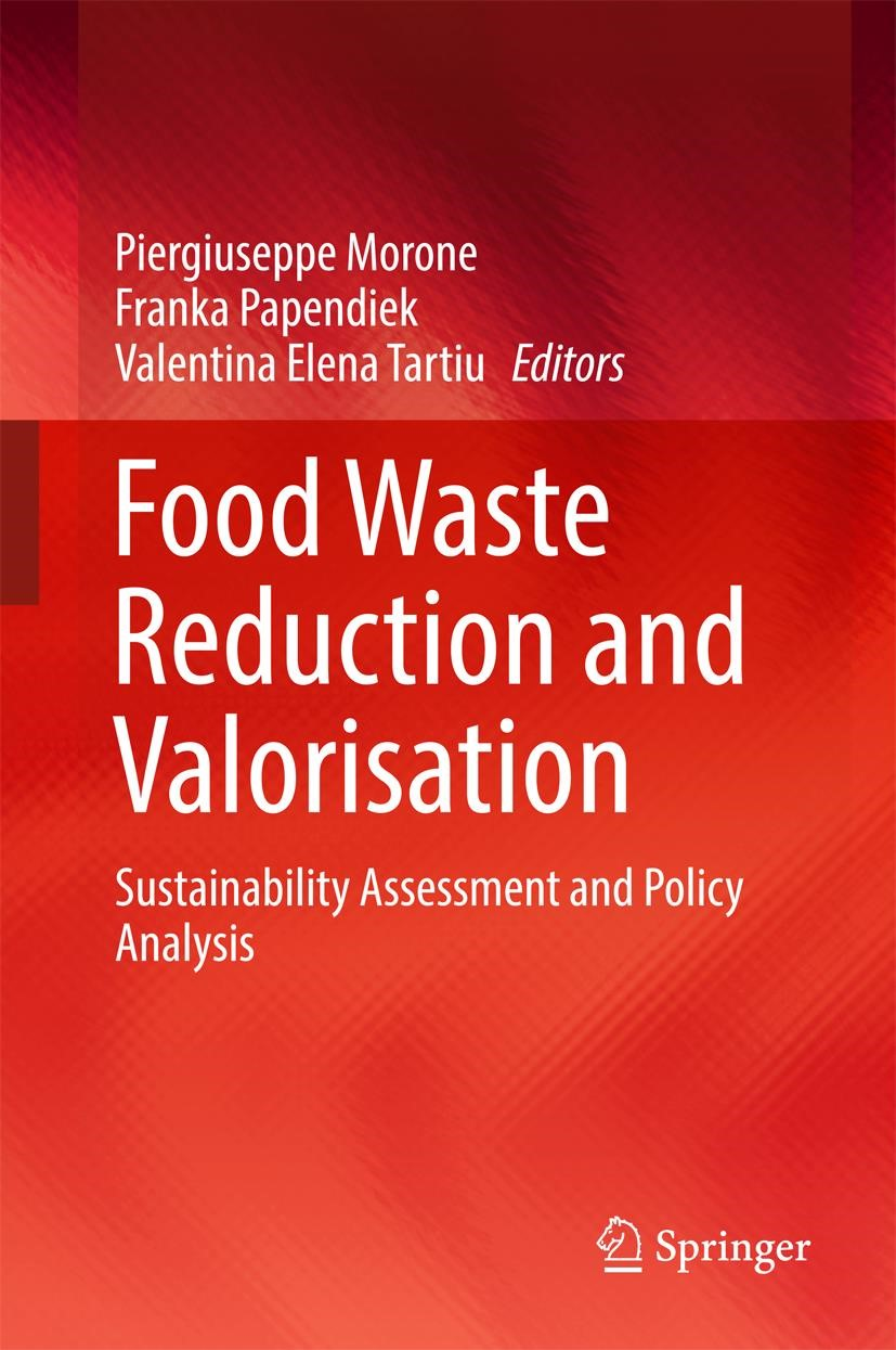 Food Waste Reduction and Valorisation | Morone / Papendiek / Tartiu | 1st ed. 2017, 2016 | Buch (Cover)