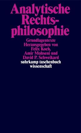 Abbildung von Koch / Mohseni / Schweikard | Analytische Rechtsphilosophie | 2019 | Grundlagentexte