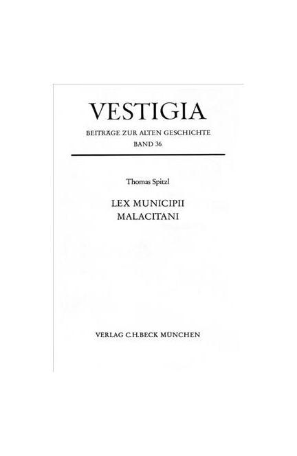 Cover: Thomas Spitzl, Lex municipii Malacitani