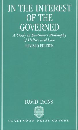 Abbildung von Lyons | In the Interest of the Governed | 1991