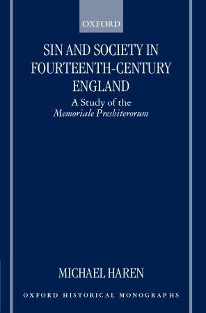 Abbildung von Haren   Sin and Society in Fourteenth-Century England   2000