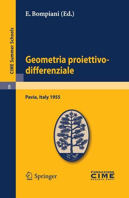 Abbildung von Bompiani | Geometria proiettivo-differenziale | Reprint | 2011