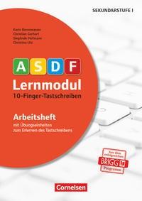 10-Finger-Tastschreiben. Arbeitsheft | Bornewasser / Gerhart / Hofmann | Neuauflage, Nachdruck, 2016 | Buch (Cover)