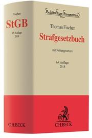 Strafgesetzbuch: StGB | Fischer | 65. Auflage, 2017 | Buch (Cover)