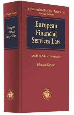 Abbildung von Lehmann / Kumpan | European Financial Services Law | 2019