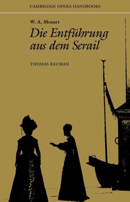 Abbildung von Bauman   W. A. Mozart: Die Entführung aus dem Serail   1988